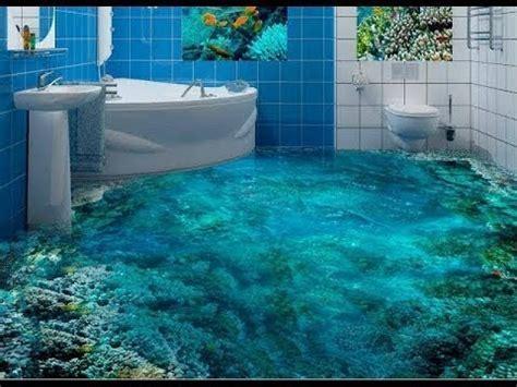 Bathrooms 3D Floor Designs   YouTube