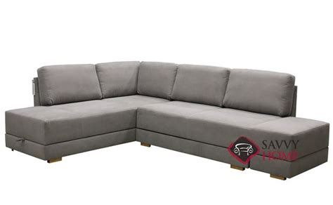 brooklyn sectional brooklyn fabric chaise sectional by luonto is fully