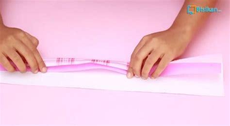 tutorial membungkus kado praktis cara membungkus kado bentuk tas