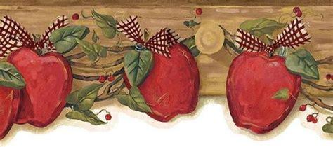 apple wallpaper kitchen country apple wallpaper border kbe12612b wallpaper