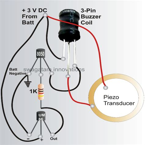 make an electric circuit how to make a bicycle horn with ringtone circuit