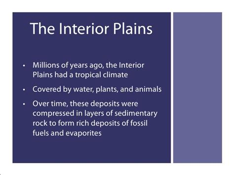 When Was The Interior Plains Formed by Physical Regions Of Western Canada