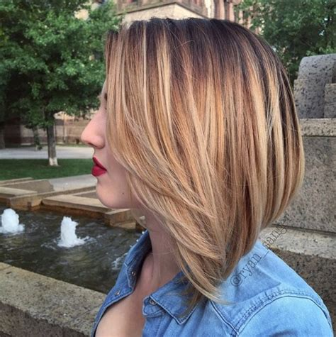 ombre highlights for short bob sleek and hot hair beauty with ombre straight hair amoy