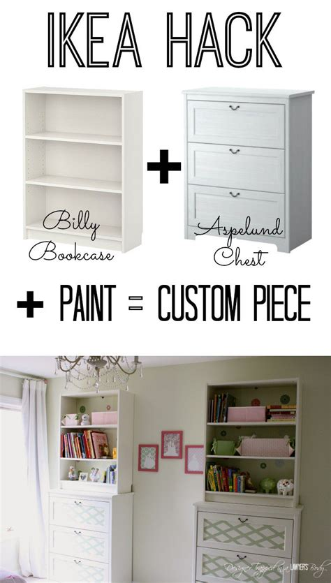 hacking ikea customize ikea furniture paint transformation
