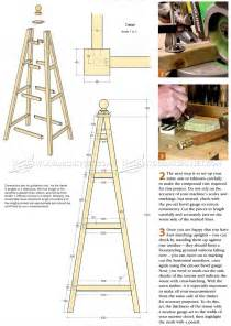 Trellis Planter Garden Obelisk Plans Woodarchivist