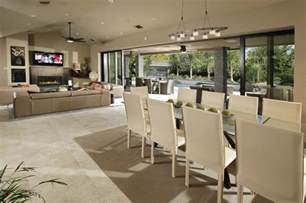 Open Kitchen Dining And Living Room Floor Plans Open Plan Kitchen
