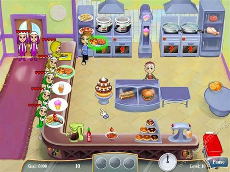 Kitchen Dash by Cooking Dash Free Time Management