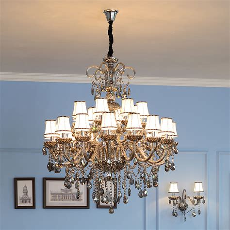 chandeliers with fabric shades popular chandelier fabric shades buy cheap chandelier