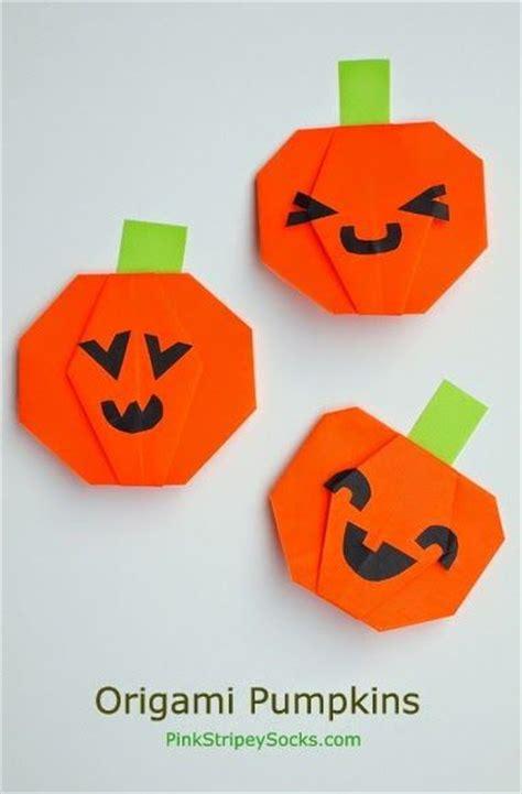 Origami Pumpkins - origami o lantern pumpkin pumpkins origami and