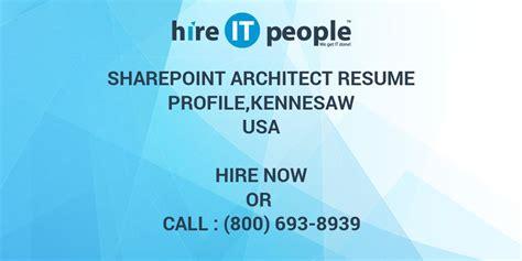 Sharepoint Architect Resume Doc by Sharepoint Architect Resume Sanitizeuv Sle