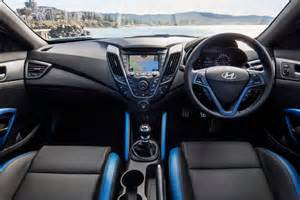 Hyundai Veloster Interior Hyundai Veloster Sr Turbo Edition On Sale In