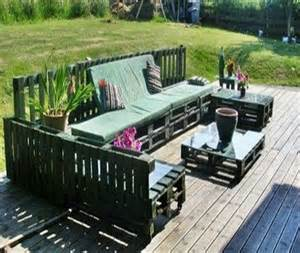Patio Furniture Made Out Of Wood Pallets by Outdoor Furniture Out Of Pallets Wood Pallet Ideas