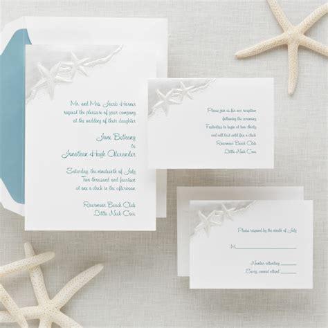 Starfish For Wedding Invitations starfish wedding invitation wedding invitations