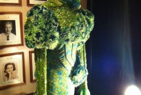 behind the emerald curtain behind the scenes at broadway s wicked a close up look at