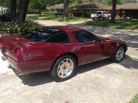 1993 corvette 40th anniversary for sale 1993 chevrolet corvette 40th anniversary