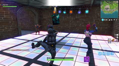 fortnite danser sur differentes pistes de danse comment
