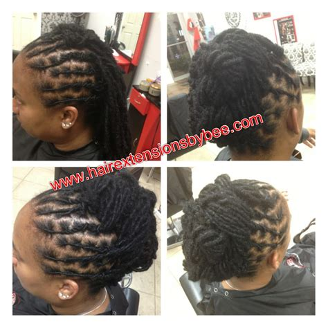 rope twist orlando fl natural dreads washed conditioned palm roll twisted