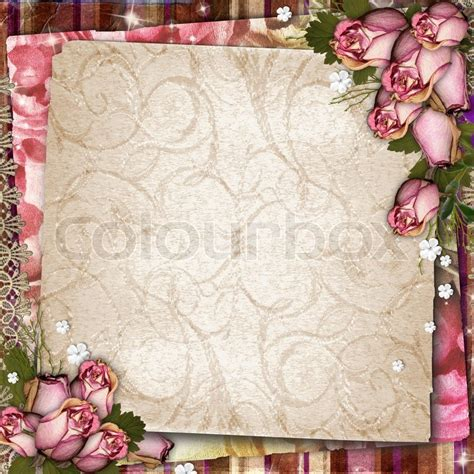 imagenes de flores secas pink and purple vintage background with dried roses