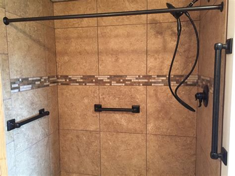 how to install klearvue cabinets bathroom remodel porcelain tile installation