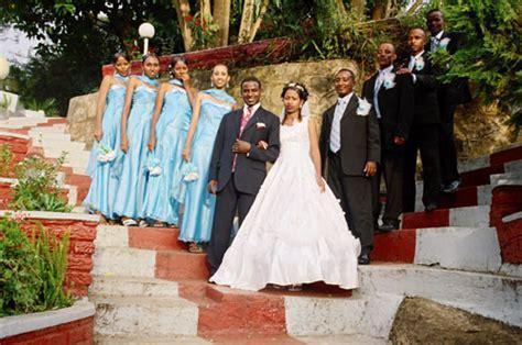 Ethiopian Weddings in Gardens at Ghion Hotel, Addis Ababa