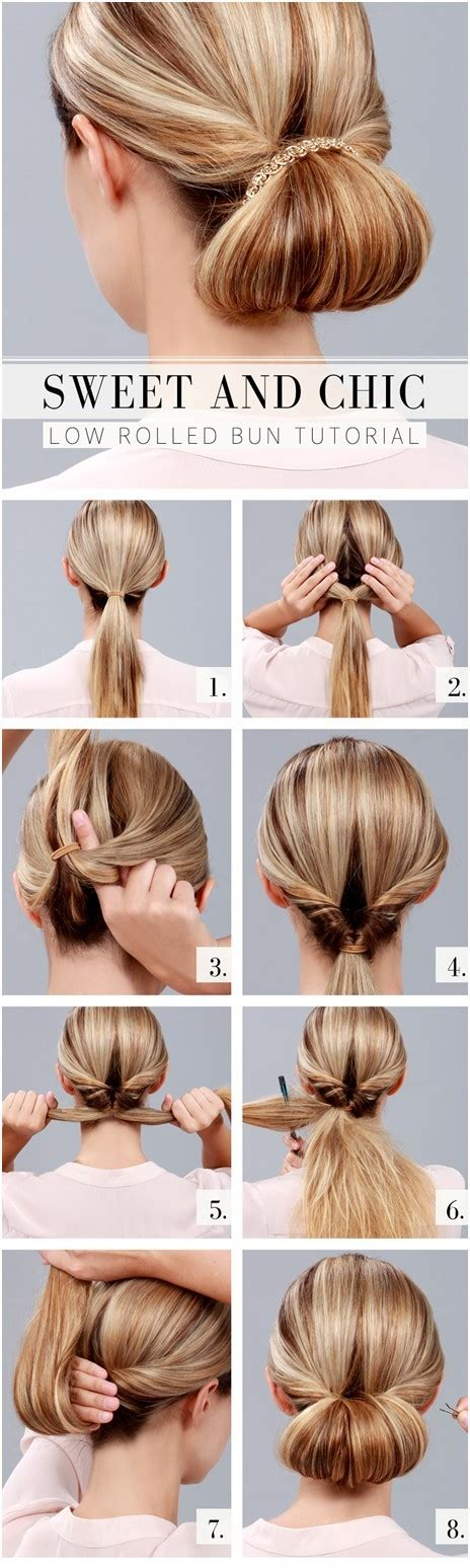 how to do low hairstyles 10 ways to make cute everyday hairstyles long hair