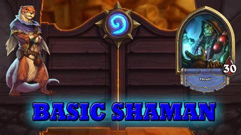 level 1 shaman deck hearthstone deck guide starter shaman basic cards only