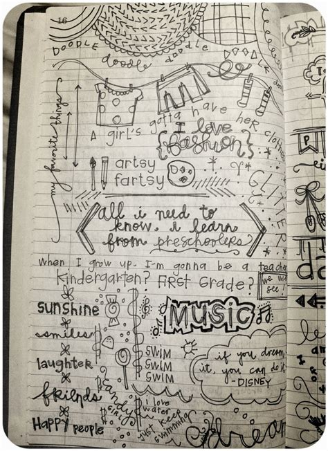doodle journal quotes for journal quotesgram