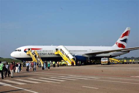 british airways south africa to london flights ba brings down curtain on flights to uganda the london