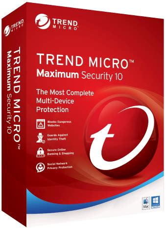 Trend Micro Security 10 For 1 User Windows 10 Support zoom trend micro security armstrong broadband