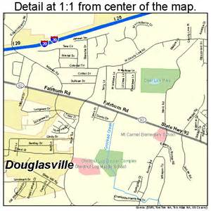 douglasville us map douglasville map 1323900