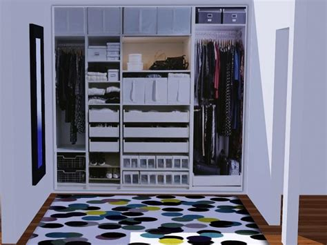 Sims 3 Closet by Patrymad S Realistic Dressing Room Paintings