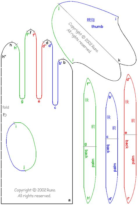 How To Make Paper Gloves - costura el vestidor