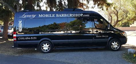 luxury mobili luxury mobile barbershop is the epitome of what a mobile