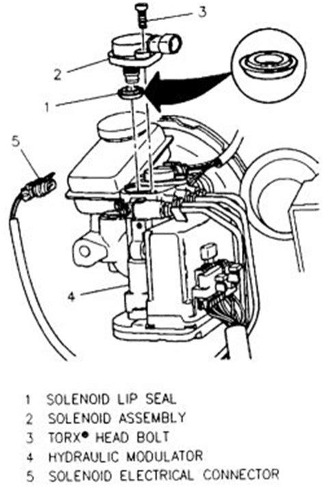 repair anti lock braking 1997 pontiac grand prix engine control repair guides anti lock brake system abs hydraulic modulator solenoid autozone com