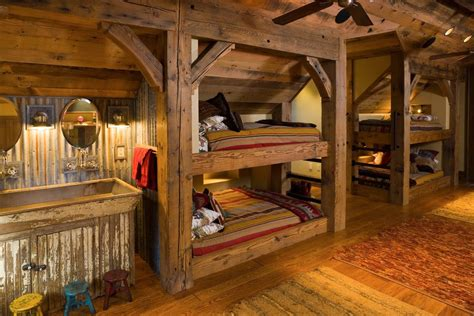 Home Depot Sconce Cabin Bunk Bed Ideas Kids Rustic With Wood Floor Counter