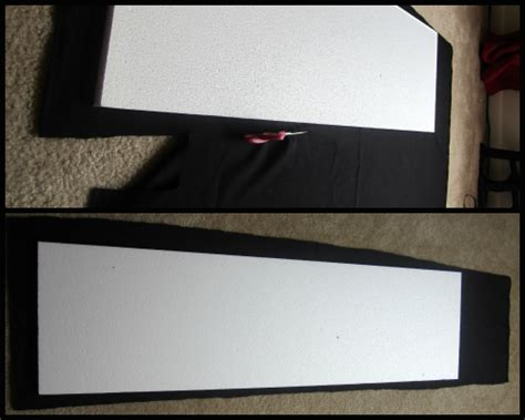 diy styrofoam headboard elizabethany pinteresting i finally made a headboard