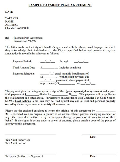 Agreement Letter For Payment Payment Plan Agreement Template 25 Free Word Pdf Documents Free Premium Templates