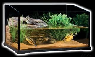 exo terra turtle terrarium aquatic reptile habitat