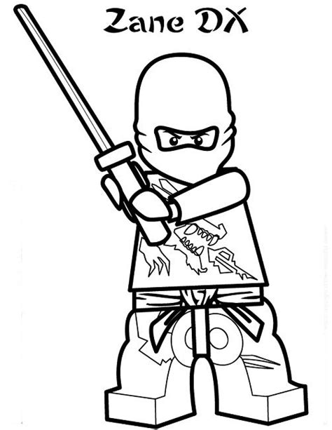 coloring pages lego ninjago movie lego ninjago coloring pages zane movie pinterest