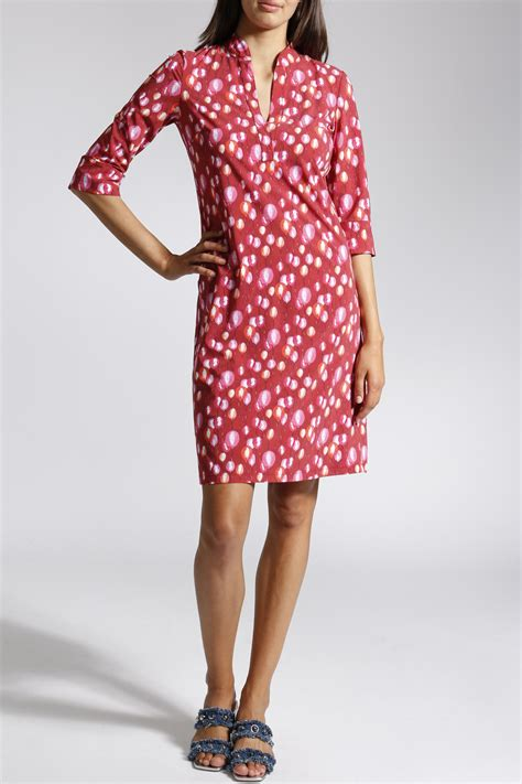 Elaine Pink by Leichtes Kleid Elaine W E T In Rot Pink
