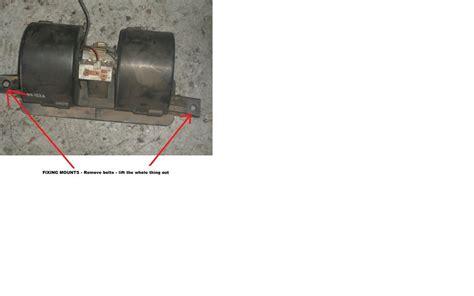 heater fan not working 1998 ford escort blower motor not working