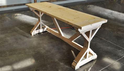 tisch mit feuerstelle selber bauen schreibtisch selber bauen 3 ideen mit anleitung freshouse