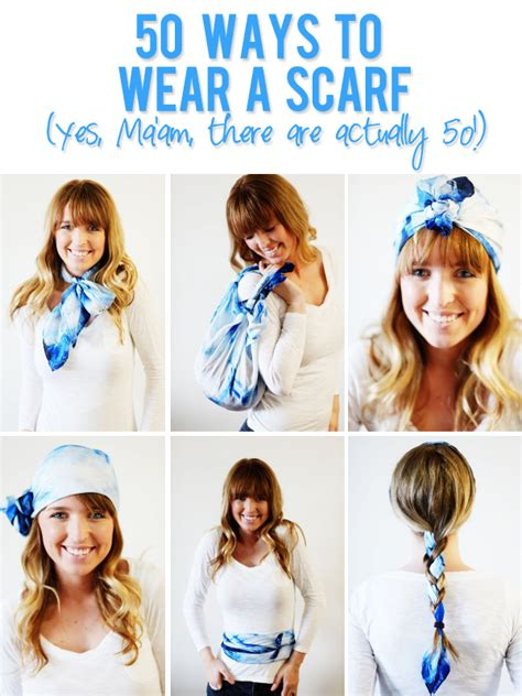 8 Cool Ways To Wear A Scarf by Musely