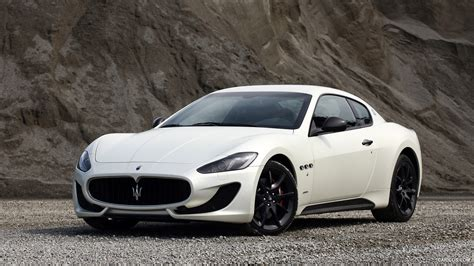 black maserati sports car maserati granturismo sport wallpaper black
