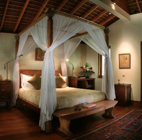 Decorating A Colonial Home traditional joglo bedroom in villa seminyak