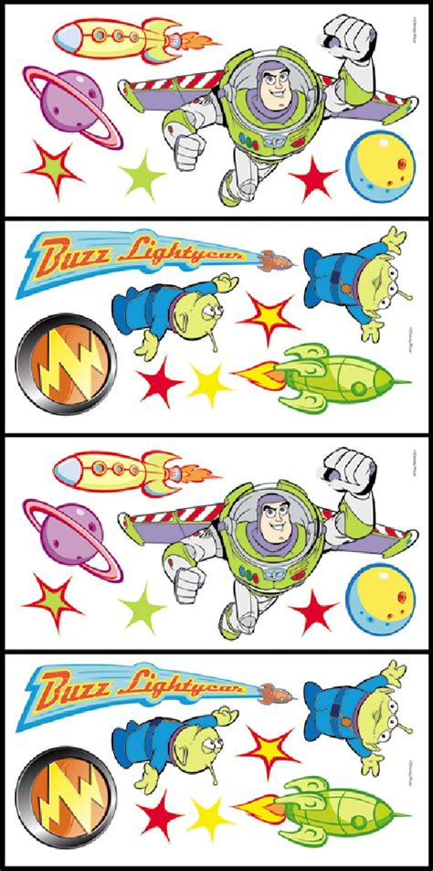 buzz lightyear wall stickers story buzz lightyear accent stickers