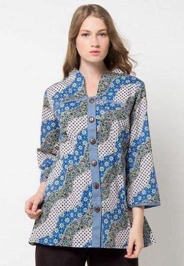 Baju Batik Kerja Wanita Zalora model baju batik kekinian yang keren dan 40 model baju batik atasan wanita terbaru 2018 desain