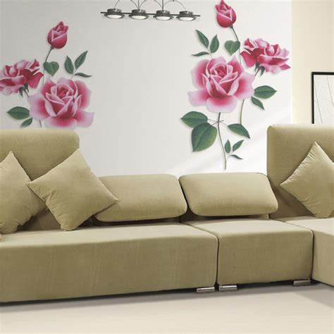 home decor wall stickers flower removable wall vinyl decal home decor wall