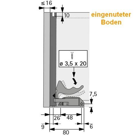 schubladenauszug systeme quadro v6 vollauszug mit silent system 420mm