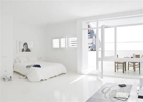 white studio apartments all white studio apartment in barcelona design visual